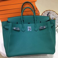 Wholesale saddle blue for sale - Group buy Luxury Women Leather Totes Imported Top quality togo Leather fine grain Non deformable super soft handbags Try Not hesitate