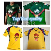Wholesale jersey club america - Top Thai quality 2018 2019 Liga MX mexico green club america 3rd jersey 17 18 19 Club america soccer jersey DOMINGUEZ PERALTA football shirt