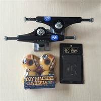 lastwagen alu-räder großhandel-2016 Freies Verschiffen Skateboard Teile Royal Aluminium 5,25