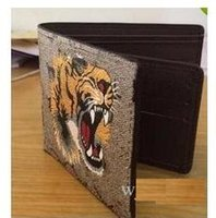 Wholesale black leopard - Mens Brand Wallet free shipping 2018 Men's Leather With Wallets For Men Purse Wallet Men Wallet with box dust bag