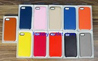paquet de vente au détail pour iphone achat en gros de-De haute qualité pour iPhone X / 8/7 / 6S Skin Etui en cuir avec exquis Box Retail Package Livraison gratuite