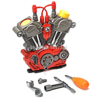 Wholesale educational toys for kids for sale - Electronic diy assembly Engine overhaul Play Set and Pieces Take Apart Kit with Lights and Sounds Educational toys for kids