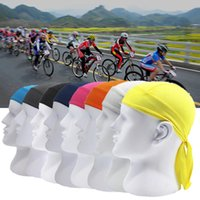 Wholesale bike headbands resale online - Bike Pirate cycling Scarf Sports Hat Headband Outdoor Riding Cycling Quick Dry Headscarf Men Summer Running Riding Headscarf FFA287