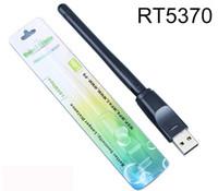 antena inalámbrica ralink al por mayor-Antena inalámbrica Ralink RT5370 150M para Linux STB BOX MAG250 Tarjeta wifi MAG322 Adaptador USB Lan Card 802.11n / g / b