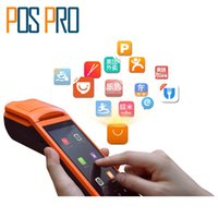 All'ingrosso-Android 5.1 Mini Pos stampante termica scanner di codici a barre palmare terminale POS wireless bluetooth wifi Android PDA 3G Distribution