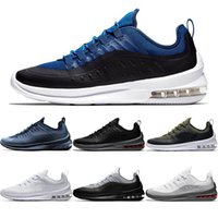 Wholesale outdoor axes - Mens Axis 98 Designer Running Shoes Triple s Black White Deep Blue Cool Grey Men Women Outdoors Sports Sneakers size 36-45