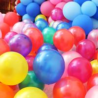 ingrosso decorazione di nozze-Palloncini a elio di alta qualità compleanno festa palloncini palloncini bonsai 2,8 g ispessimento palloncini di 12 pollici perla compleanno festa a decorat