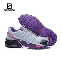 Wholesale gold crosses for women resale online - 2019 Authentic Salomon Speed Cross IV Mens Designer Sports Running Shoes for Men Sneakers Women Casual Trainers With Box