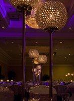 merkez kristaller toptan satış-8 adet / grup kristal düğün centerpiece Düğün süslemeleri parti süslemeleri olay sahne