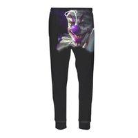 Wholesale Joker Trousers - Autumn Jogger Pants Men Women Casual Full Length Trouser 3d Print Joker Sweatpants Fitness Pants 3D Brutches Hombre Teen