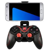 android için kablosuz bluetooth oyun denetleyicisi toptan satış-Akıllı Telefonlar için Gamepad Kablosuz Bluetooth Denetleyici C8 Gamepad Android iPhone Oyunları ve aksesuarları