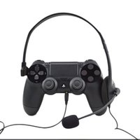 Wholesale headset video games - 1pc Over-ear Wired earphone headphones gaming headset for pc video game gamer For Playstation PS4 With VOL Wholesale hot new