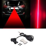ingrosso luce anti collisione principale-2018 LED Laser Auto Car Vehicle nebbia luci anticollisione fanale posteriore Freno avverte la lampada di trasporto del DHL