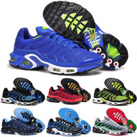 Wholesale shoe cake blue for sale - Group buy New Hot SELL Fashion Running Shoe Men TN Shoes Sell Like Hot Cakes Fashion Increased Ventilation Casual Shoes size eur