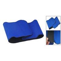 soporte de cintura azul al por mayor-5Set Venta Azul Soporte de cintura ajustable Dolor elástico Volver Brace