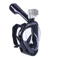 gopro mergulho venda por atacado-Máscara de Mergulho Submarino de verão Underwater All Dry Gopro Máscaras de Mergulho Adulto Crianças Mergulho Cobertura Completa Venda Quente 59cd gg