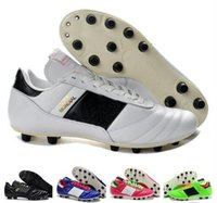 2019 Free Shipping Men Copa Mundial FG- (Black White) Made in Germany Soccer  Cleats FG Leather Soccer Shoes World Cup Football Boots 8fd78b47799
