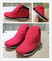 Wholesale 18 thread - Wholesale high quality 18 XVIII Toro Gym basketball shoes New design 2018 men 18s red black sports sneakers with box size 8-13