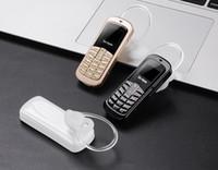 ingrosso telefoni microfono bluetooth-100% originale orecchio rima M9 Mini telefono auricolare Bluetooth 14 tipi di lingua supporto mobile e Unicom 2G 3G 4G Micro SIM
