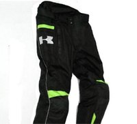 Wholesale motorcycle pull - Kawasak Motorcycle winter cycling trousers windproof cross - proof rider long trousers and thick thermal motorcycle pull pants.