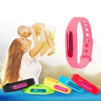 Wholesale wrist protection band resale online - Anti Mosquito Pest Insect Wristband silicone Repellent Repeller Wrist Band Bracelet Protection Safe Bracelet Pest Control FFA292