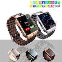 Wholesale Watch Phone Fashion - 2018 Hot Fashion Smart Watch DZ09 Support TF Sim Card Watch with Camera Intelligent Wristwatch for Smart Phone