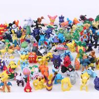 minyatür karikatür oyuncaklar toptan satış-Bebek Gashapon Küçük Süs Çocuklar Rakamlar Oyuncaklar Birçok Stilleri Karikatür Çocuklar Için Minyatür Modeli Oyuncak Hediye 0 3yx W