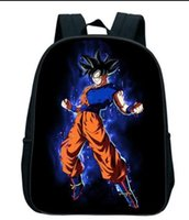 Wholesale body balls children - Anime Dragon Ball Z D Print Backpack For Children Boys Girls Bag Best Gift N25
