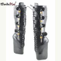 туфли на высоком каблуке фетиш оптовых-Wonderheel сексуальная балетная обувь ультра высокий каблук 7