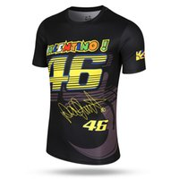 Wholesale 46 rossi - New Fashion Valen Rossi 46 Sports T-shirt Moto GP The Doctor VR46 quick dry t-shirt Lovely Watchdog pattern Shirts & Jersey 0