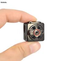 Wholesale Smallest Cmos Camera - 1080P x 720P 8 Pin USB AVI Digital Cam Infrared Night Video Recorder Sport Mini Camera Camcorder SQ8 HD DV Small Camera