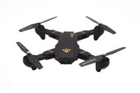 Wholesale wifi camera toy for sale - Group buy New Quadcopter XS809HW Aircraft Wifi FPV G CH Axis Altitude Hold Function RC Drone with P HD MP Camera Drone RC Toy Foldable Drone