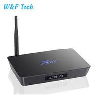 lecteur multimédia wifi achat en gros de-X92 3GB 32GB Amlogic S912 Octa-Core 64-bit Android 7.1 TV BOX 2.4 / 5.8G Dual Wifi HDMI 4K VP9 Lecteur multimédia H.265 BT4.0