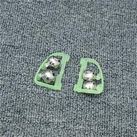 clips de pêche achat en gros de-Fluorescent Canne à pêche Pole Tip Clip Lumineux Twin Bell Alarme Alerte Anneau Bas de Nuit Fournitures Tackle Box Accessoire Outil 0 35gb bb