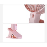 Wholesale usb clip fan for sale - Group buy Clip on Desk Fan USB Rechargeable Cooling Fans for Home Office Baby Stroller Camping XXM8