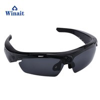 ingrosso realtà virtuale google 3d cartone in plastica-Mini occhiali da sole digitali di controllo di telecomando del mini telecomando di DV della mini macchina fotografica digitale di Winait HD 720P che freeshipping