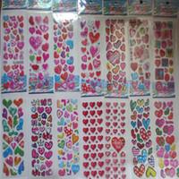 hojas de pegatinas para niños al por mayor-Venta al por mayor 100 Hojas / lote Variedad diseño Dibujos animados Niños Pegatinas Juguetes Precioso Recompensa Pegatinas Para niños Niños