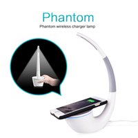 Wholesale outlet lamps - Nillkin Outlets High-technology Wireless Charger Phantom Table Lamp Wireless Life Infinite Freedom Eyecare Phone Power Charger for iphone 7