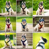 einfaches gurtzeug großhandel-Hundetragegurte Einstellbare Zugseil Einfache Reise Walking Mit Griff Leinen Welpen Tragbare Geschirre Pet Supplies 32yb4 bb