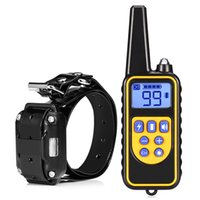 Wholesale display dogs resale online - raining Collars Rechargeable Dog Pet Electric Training Collar Waterproof Remote Control Dog Trainings with LCD Display for All Size Dog