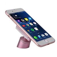 hava yastığı tutucu toptan satış-4 Renk Evrensel Araç Telefonu Tutucu Yeni Nano Mikro Emme Olmayan Manyetik Hava Firar Konsol 2 in 1 Telefonlar GPS Standı Tutucu Dağı