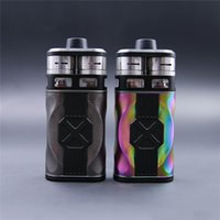 Wholesale couples kit - 100% Original Tesla CP Couples Kit 220W Box Mod Dual 18650 Battery Mechanical Mod 2 RDTA Atomizers