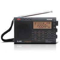 radio ssb aire al por mayor-TECSUN PL-660 Radio PLL SSB VHF AIR Receptor de radio de banda FM / MW / SW / LW Multiband Dual Conversion TECSUN PL660