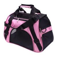 tragbare faltkörbe großhandel-Folding Pet Carriers Bag Tragbare Rucksack Soft Slung Dog Transport Outdoor Sports Mode Hunde Korb Handtaschen 24 hz ff