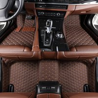 Wholesale Bmw Floor - Car floor mats for BMW F10 11 15 16 20 25 30 34 E60 E70 E90 1 3 4 5 7 Series GT X1 X3 X4 X5 X6 Z4 Custom Floor Mats Interior Auto Rugs Floor