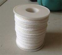 carretes de algodón al por mayor-Carrete de algodón Trenza cuadrada Velas Mechas Wick Core 61 mx 2.5 mm Para la fabricación de velas Suministros