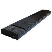 Wholesale infrared bathroom heaters - free shipping infrared radiant heater JH-NR10-13A black JHCCOL 1000W electric heater for livingroom ,cafes , YOGA , bathroom ,hall ,hotel