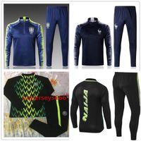 Wholesale pant sets - Nigerias soccer Tracksuit 2018 World Cup jacket 18-19 Nigerias STARBOY Okocha jerseys set football training suit pants