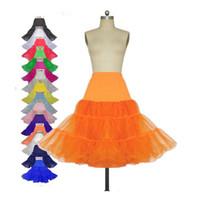 organza petticoat underskirt toptan satış-Büyük kızlar Organze Petticoat Kabarık Etek için Vintage Düğün Gelin Petticoat Gelinlik Jüpon Tutu Gelin Aksesuarları