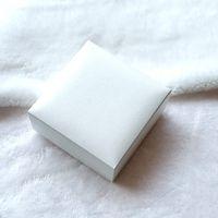 ingrosso cuscino originale-Scatole originali di imballaggio di gioielli bianchi con cuscino nero per bracciale Pandora orecchini collane orecchini scatola di gioielli